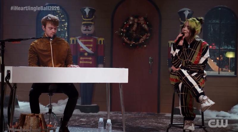 "Watch Billie Eilish Sing ""Silver Bells"" At Jingle Ball 2020"
