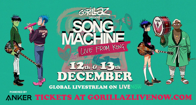Watch Gorillaz's Song Machine Live Concert Feat. Beck, Slowthai, ScHoolboy Q, & More