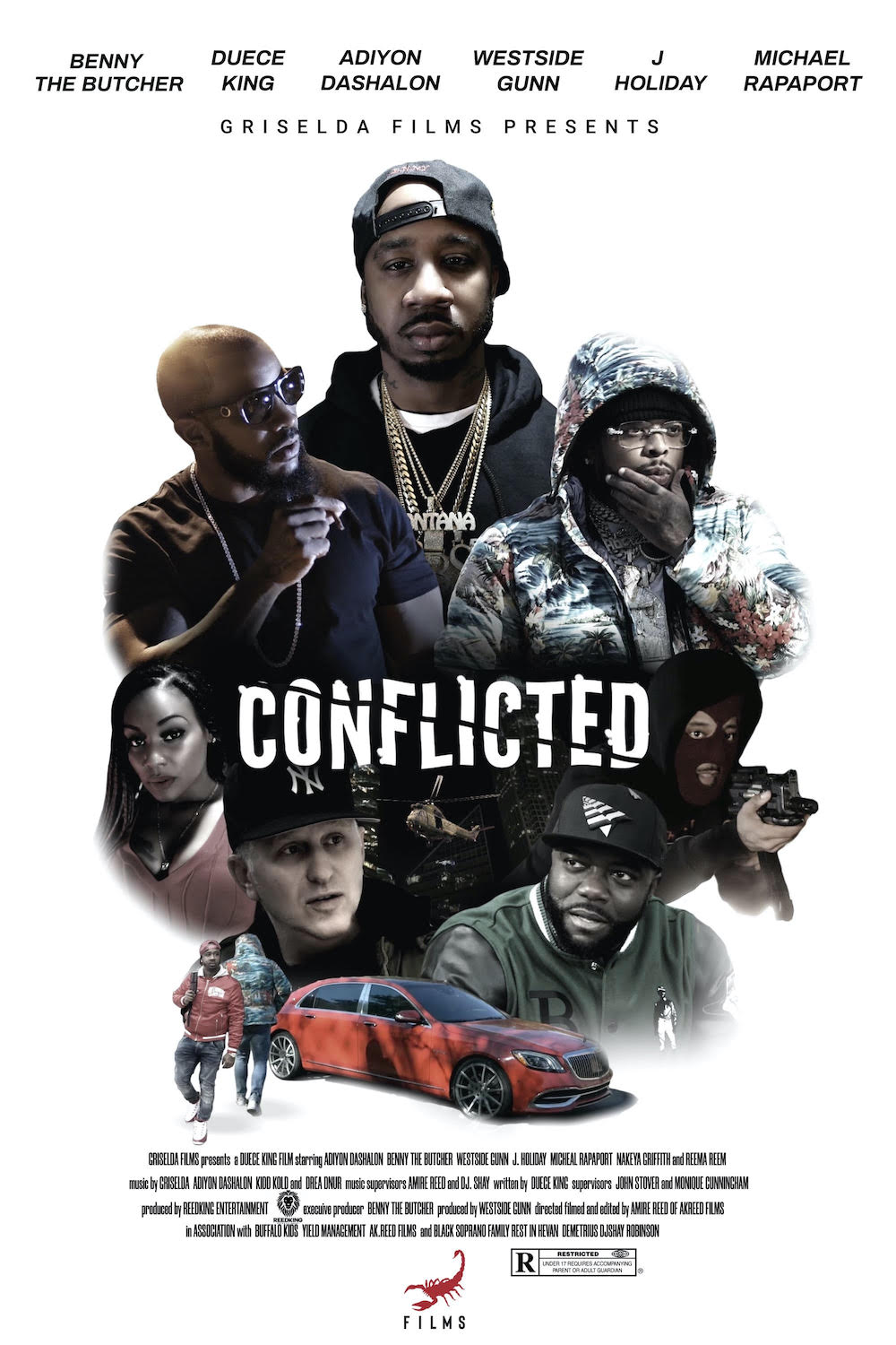 Griselda Announces Conflicted Film Starring Benny The Butcher, Westside Gunn, Michael Rapaport, & More