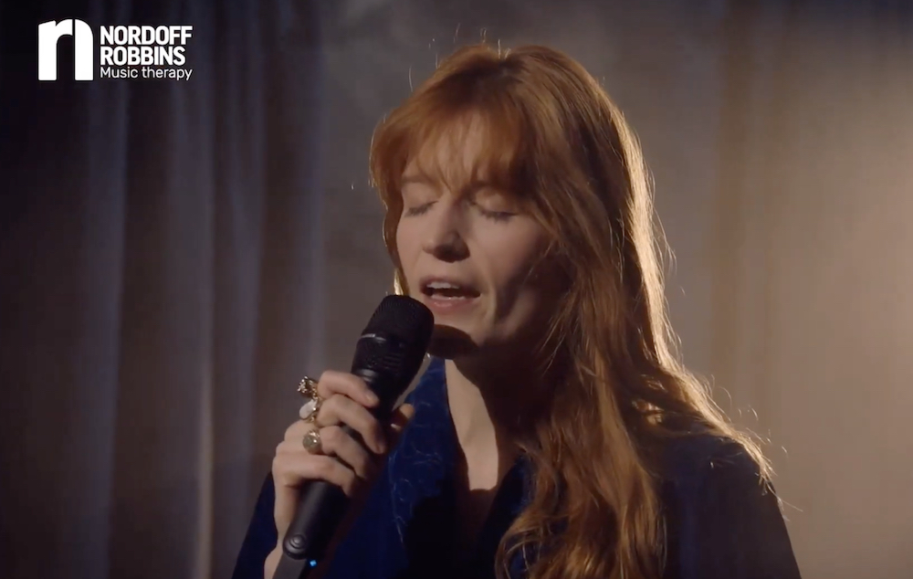 "Watch Florence Welch Cover ""Have Yourself A Merry Little Christmas"""