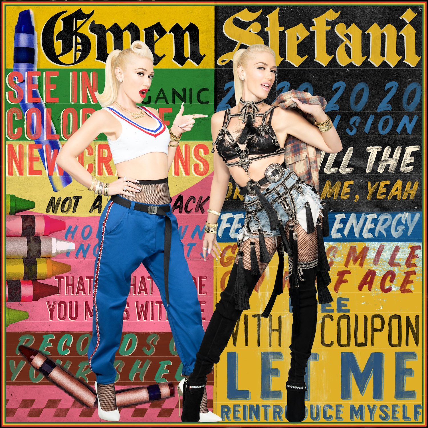 "Gwen Stefani Releases New Song ""Let Me Reintroduce Myself"": Hear It -  Stereogum"
