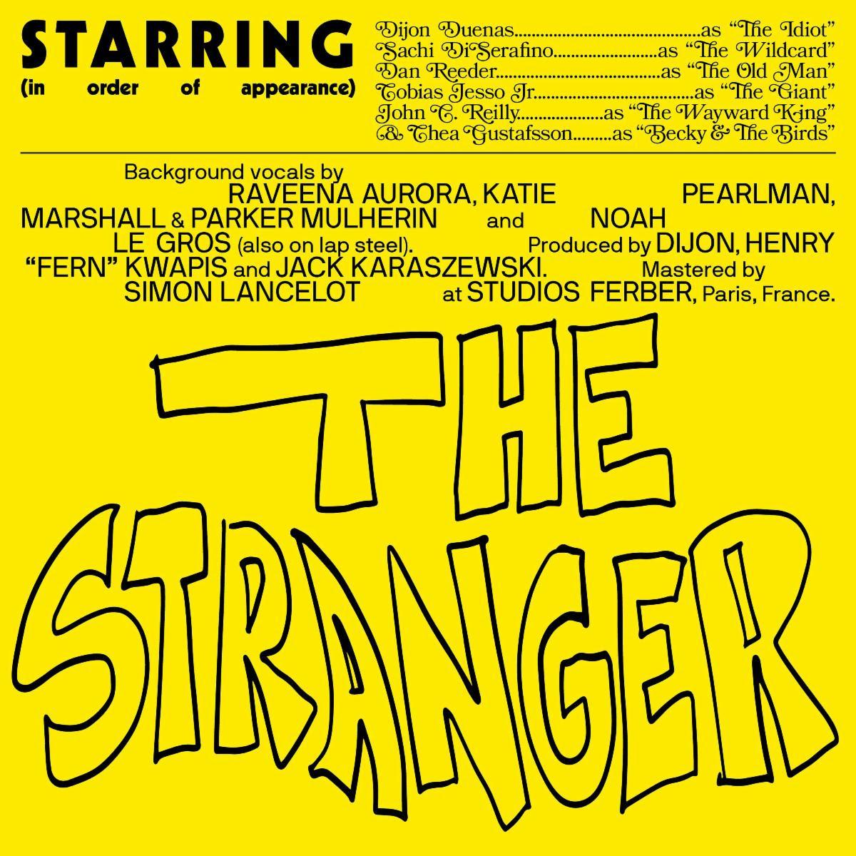 "Dijon – ""The Stranger"" (Feat. Sachi, Dan Reeder, Tobias Jesso Jr., John C. Reilly, & Becky And The Birds)"
