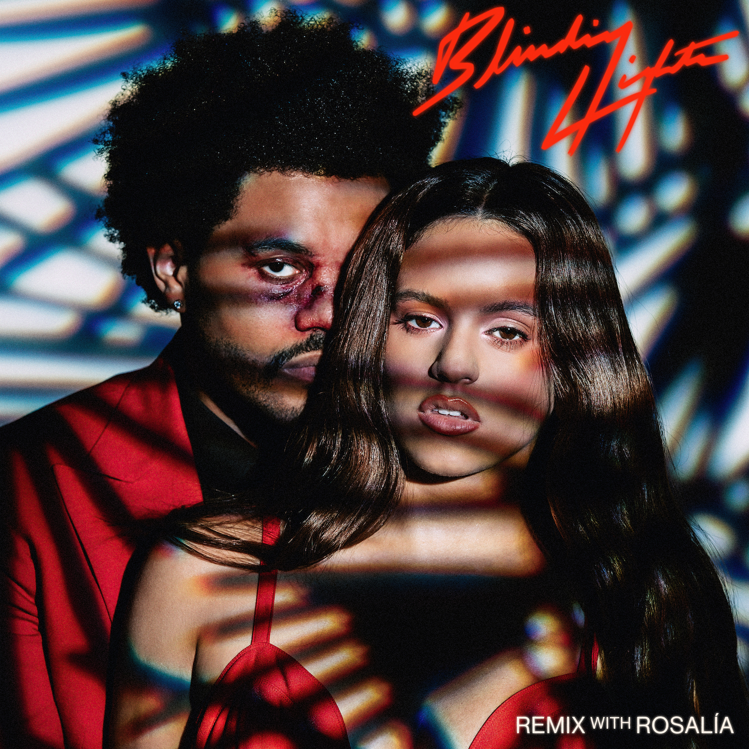 "The Weeknd – ""Blinding Lights (Remix)"" (Feat. Rosalía)"