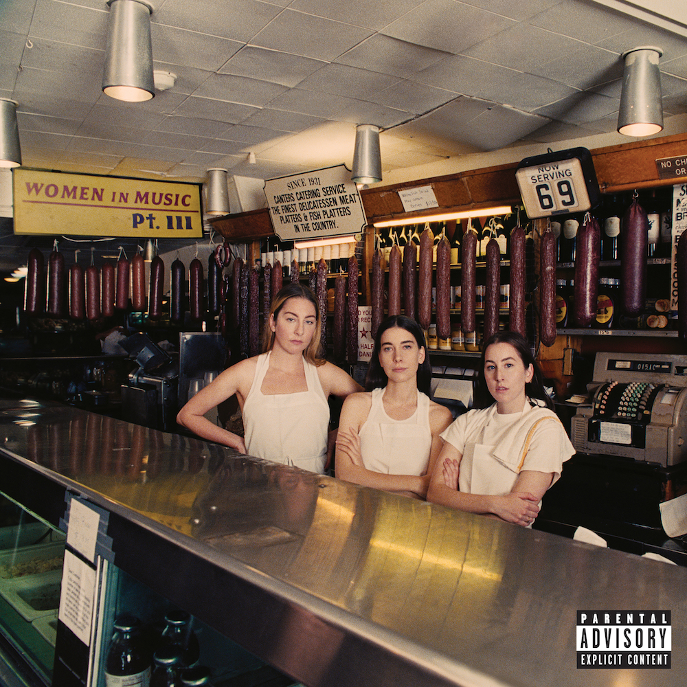 Image result for gasoline haim and taylor swift cover