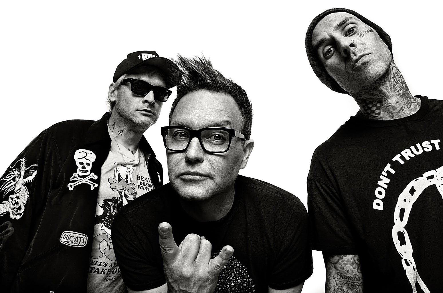New Blink-182 Album Has Grimes, Lil Uzi Vert, & Pharrell
