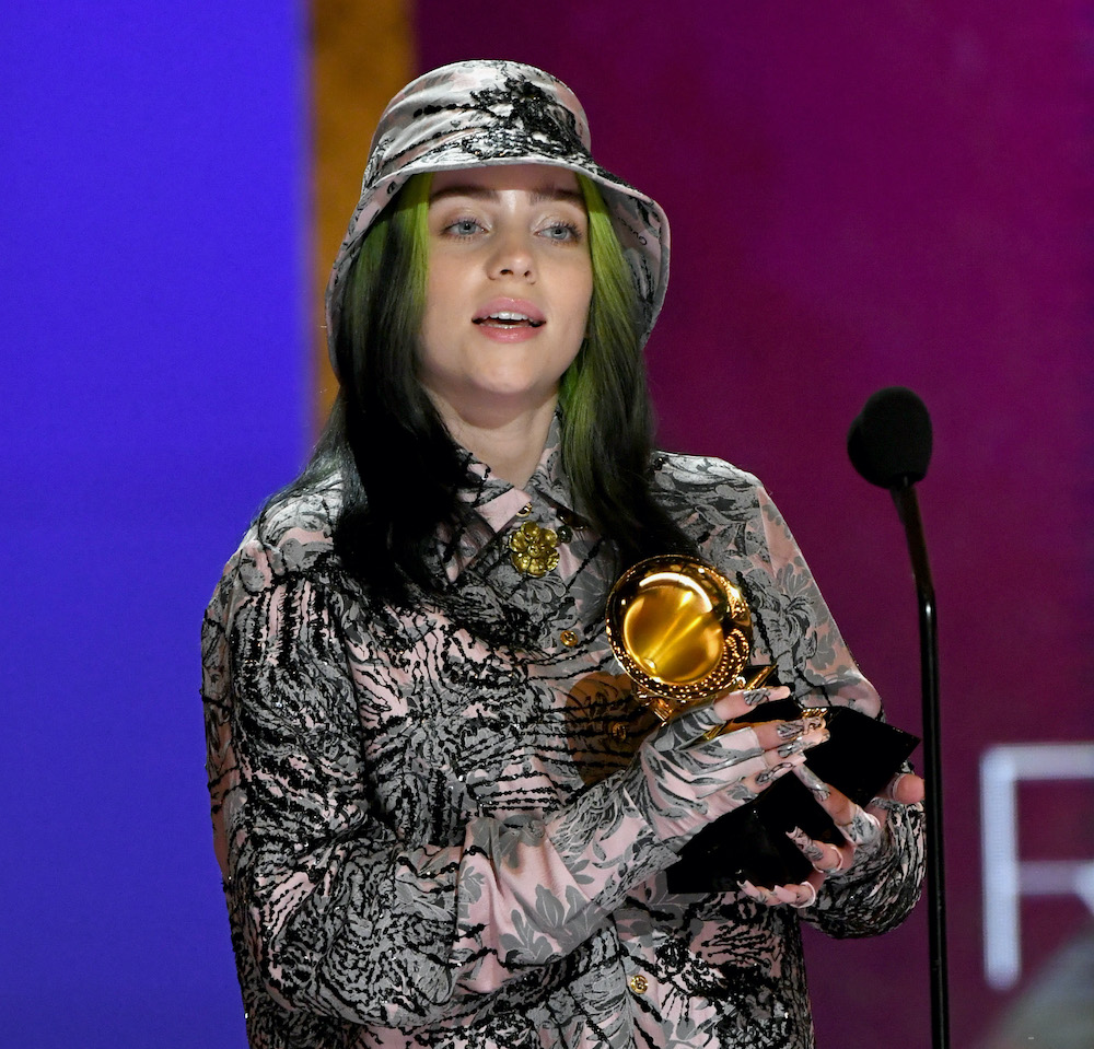 Billie Eilish Is Youngest To Win Consecutive Record Of The Year Grammys