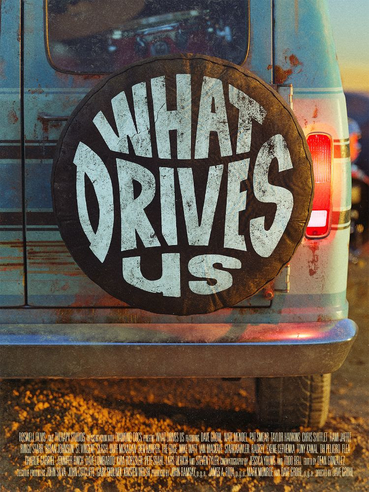 Watch The Trailer For Dave Grohl's Tour Van Life Documentary What Drives Us