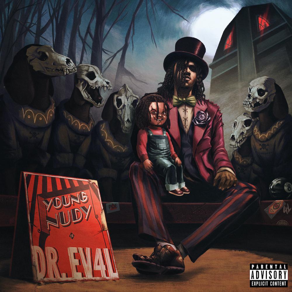 Young Nudy Releases Bleak, Commanding New Album 'DR. EV4L': Stream