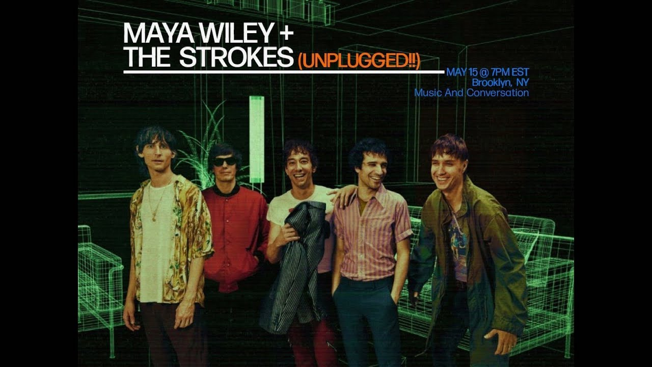 Watch The Strokes' First-Ever Acoustic Show, A Fundraiser For NYC Mayoral Candidate Maya Wiley