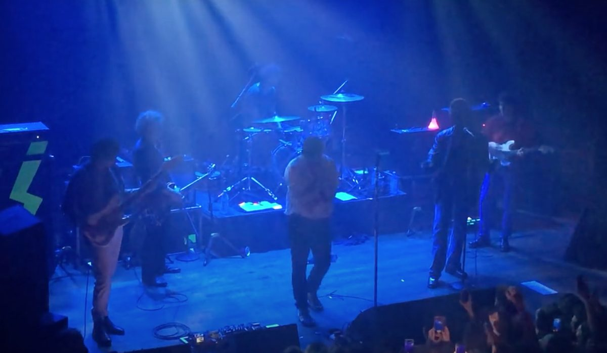 Watch The Strokes Reopen NYC's Irving Plaza With John Mulaney & Dev Hynes