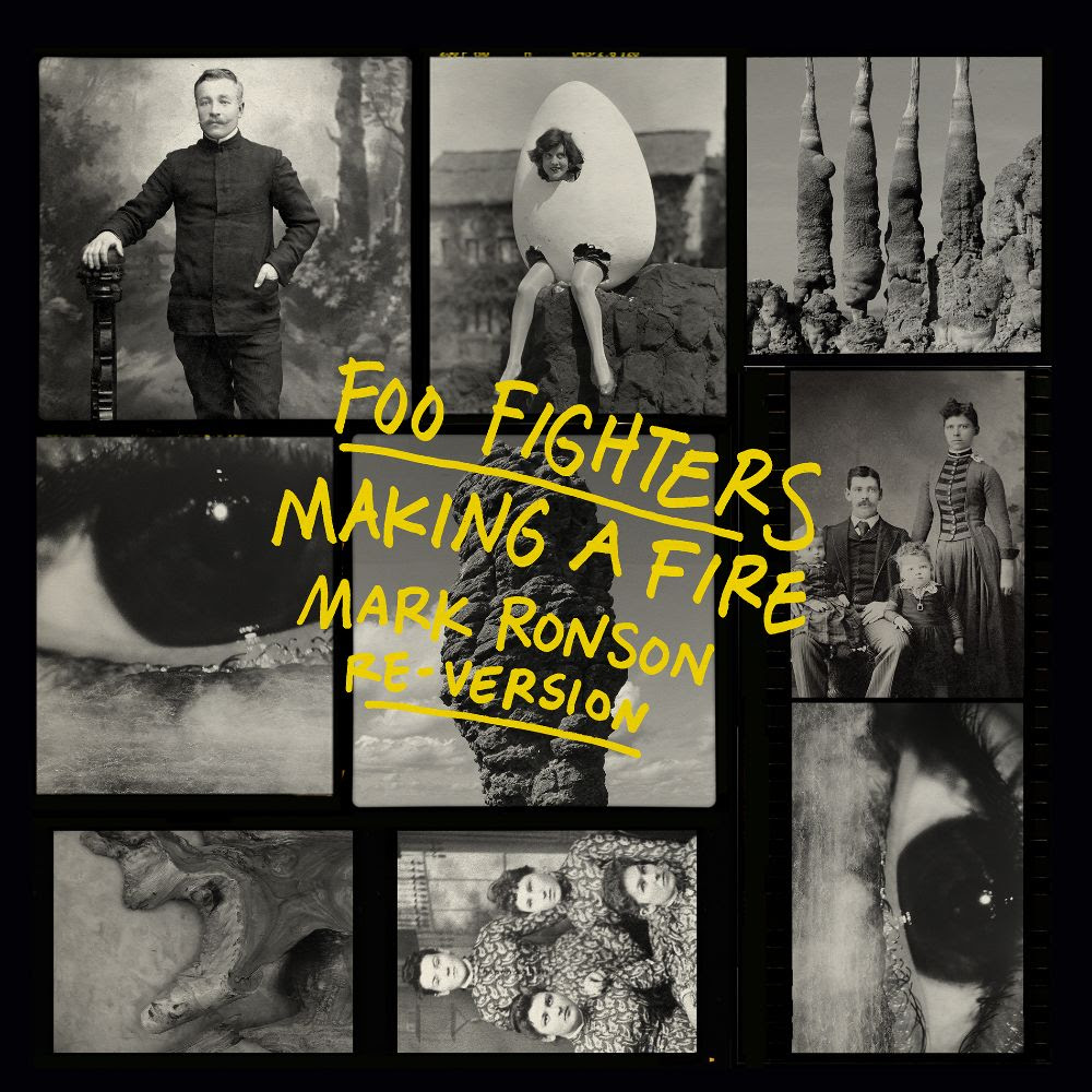 """Foo Fighters Share Mark Ronson's Re-Version Of """"Making A Fire"""": Listen"""