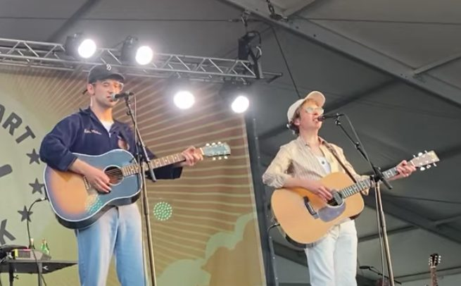 Watch Beck Play With Jack Antonoff And Fred Armisen At Newport Folk Fest