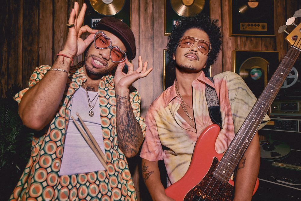 Bruno Mars & Anderson .Paak Share New Silk Sonic Song