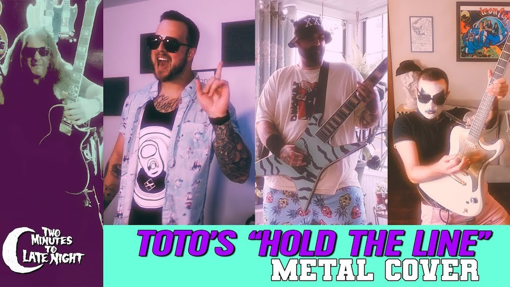 """Watch Members Of Protest The Hero, Testament, Shearwater, More Play Metal Cover Of Toto's """"Hold The Line"""""""