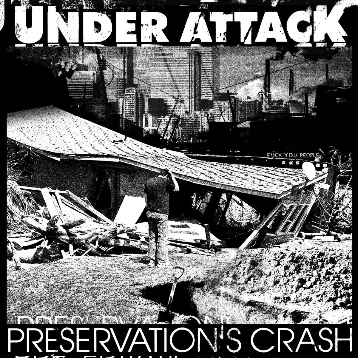 Stream Under Attack's Frantic New EP Preservation's Crash