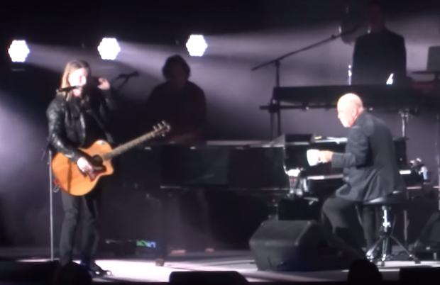 """Watch Billy Joel Bring Out Goo Goo Dolls' John Rzeznik For """"Iris"""" In Buffalo"""