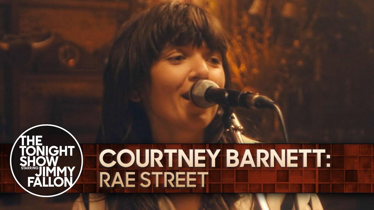 "Watch Courtney Barnett Perform ""Rae Street"" On Fallon"