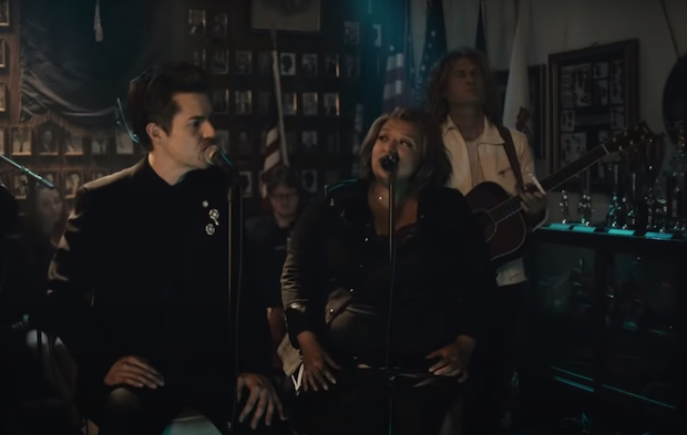 "Watch The Killers Perform ""Runaway Horses"" On Kimmel"