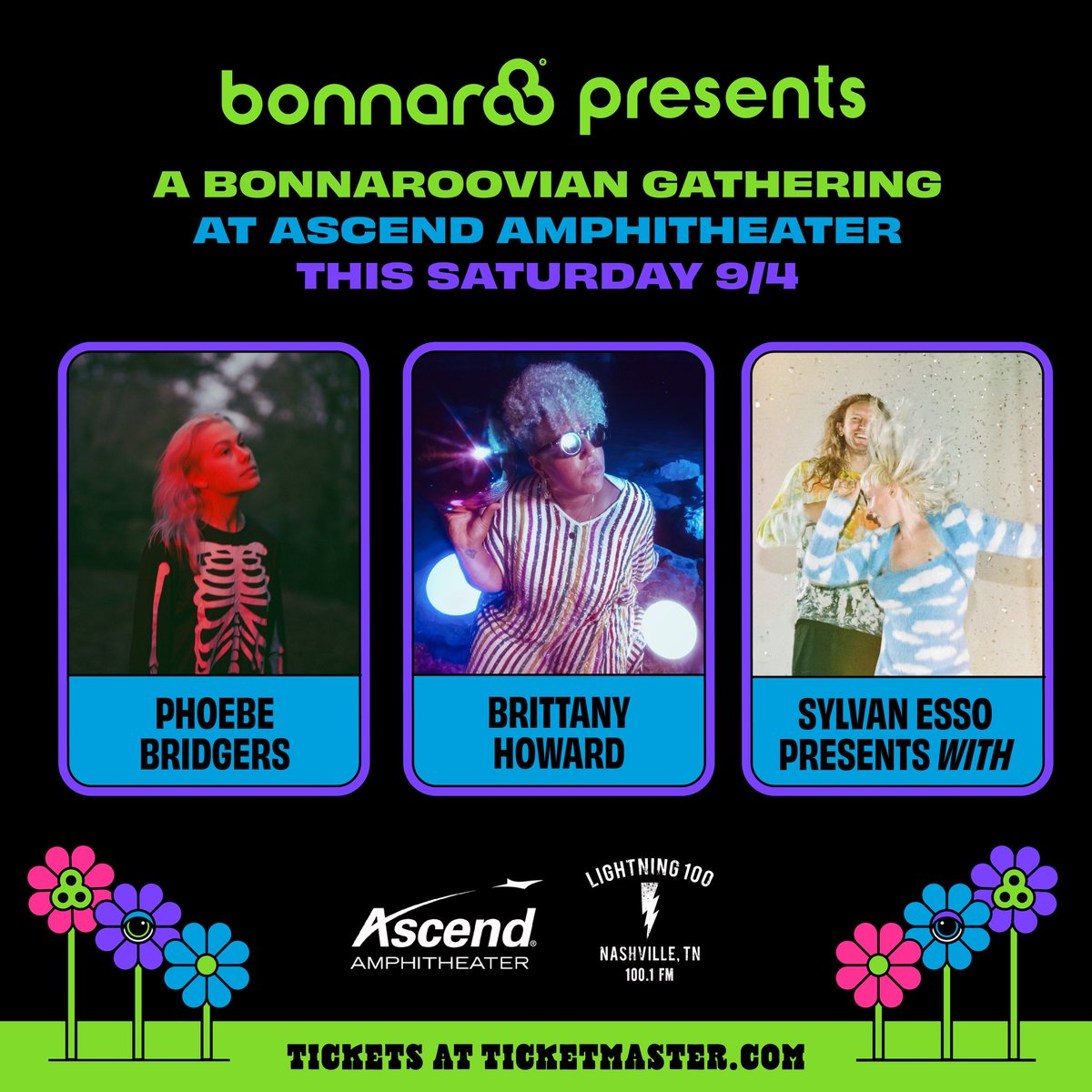 Following Last-Minute Cancellation, Bonnaroo Announces Show With Phoebe Bridgers, Brittany Howard, & Sylvan Esso