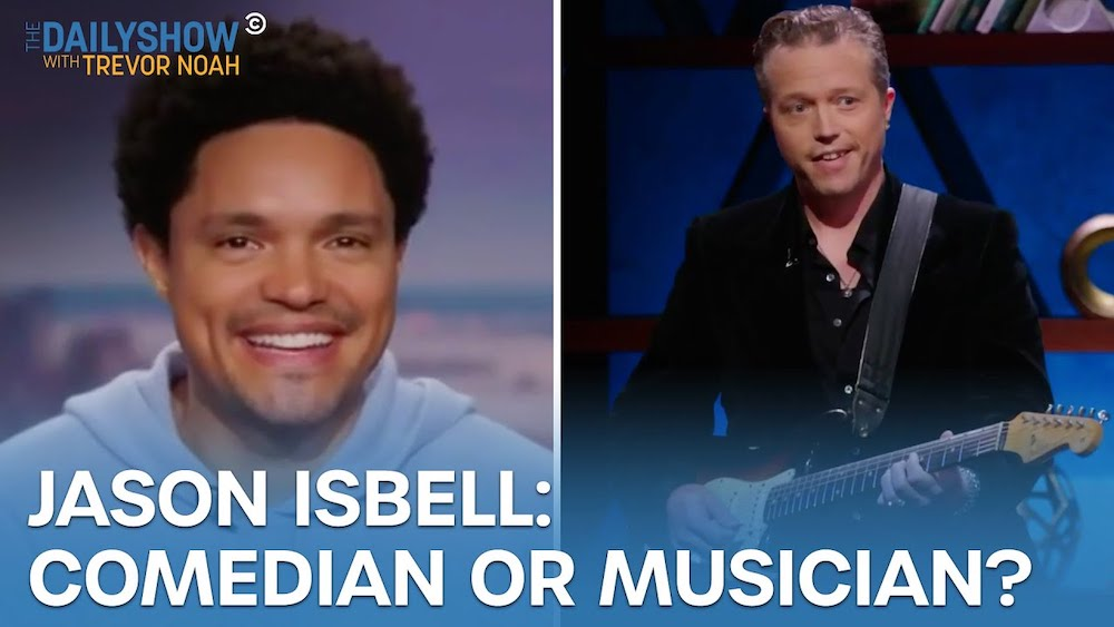Watch Jason Isbell Make Trevor Noah Uncomfortable On The Daily Show