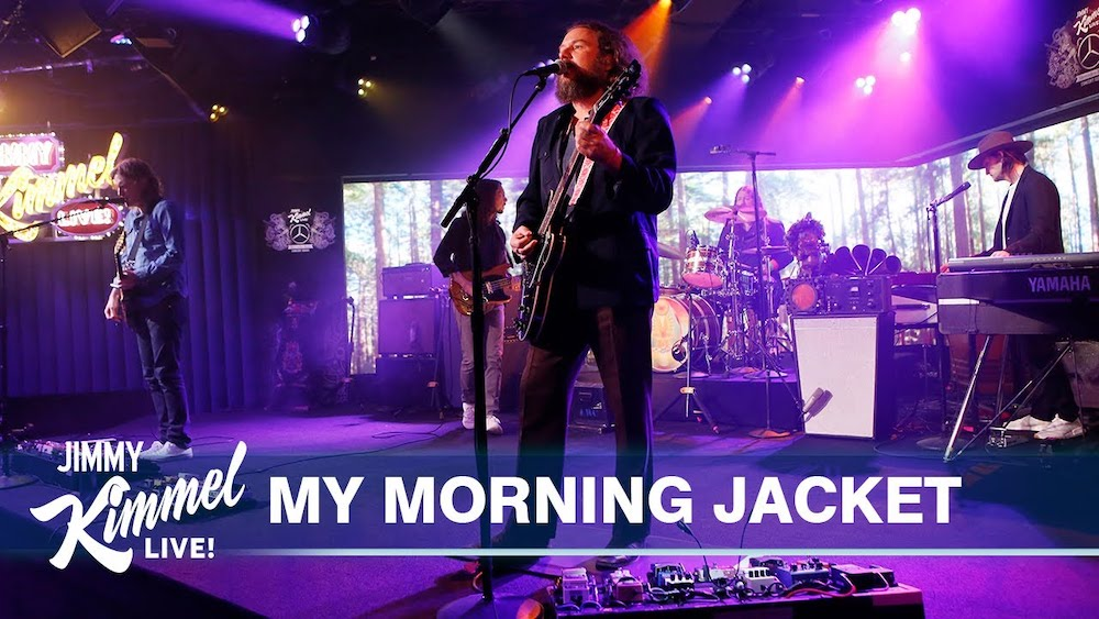 """Watch My Morning Jacket Play A Majestic """"Regularly Scheduled Programming"""" On Kimmel"""