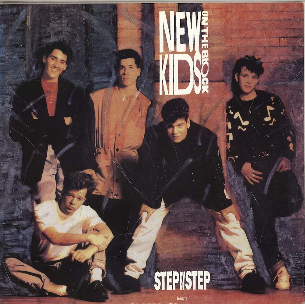 """The Number Ones: New Kids On The Block's """"Step By Step"""""""