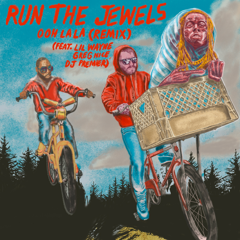 """Run The Jewels Release Deluxe RTJ4 Including An """"Ooh LA LA"""" Remix With Lil Wayne"""