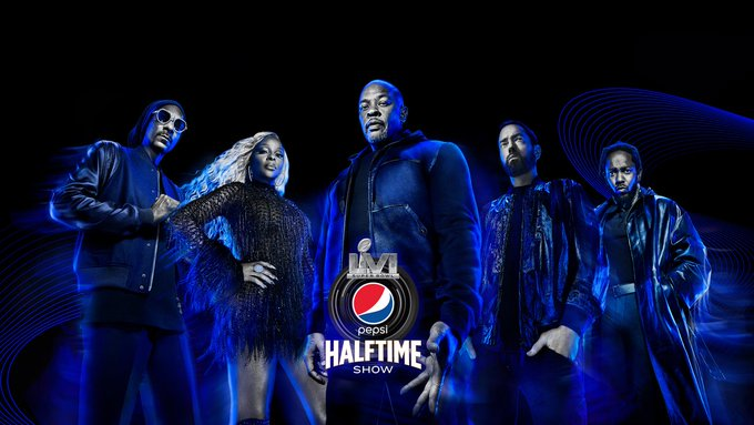 Dr. Dre, Snoop Dogg, Eminem, Mary J. Blige, & Kendrick Lamar Will Play The Super Bowl Halftime Show
