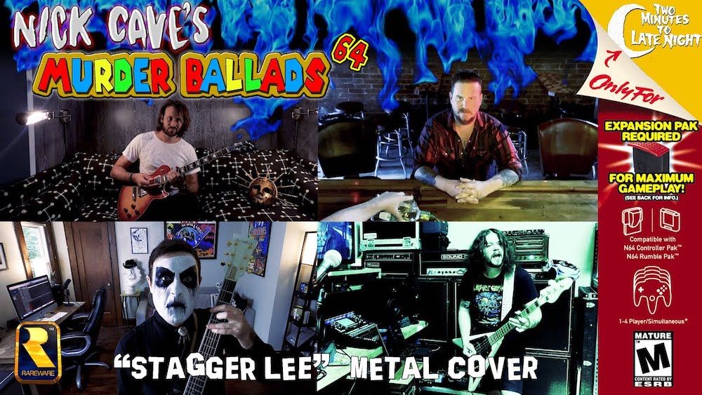 """Watch Members Of Young Widows, Mutoid Man, Filth Is Eternal, More Play Metal Cover Of Nick Cave's """"Stagger Lee"""""""