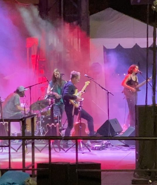 """Watch Big Thief Play New Song """"Dragon"""" At Pitchfork Music Festival"""