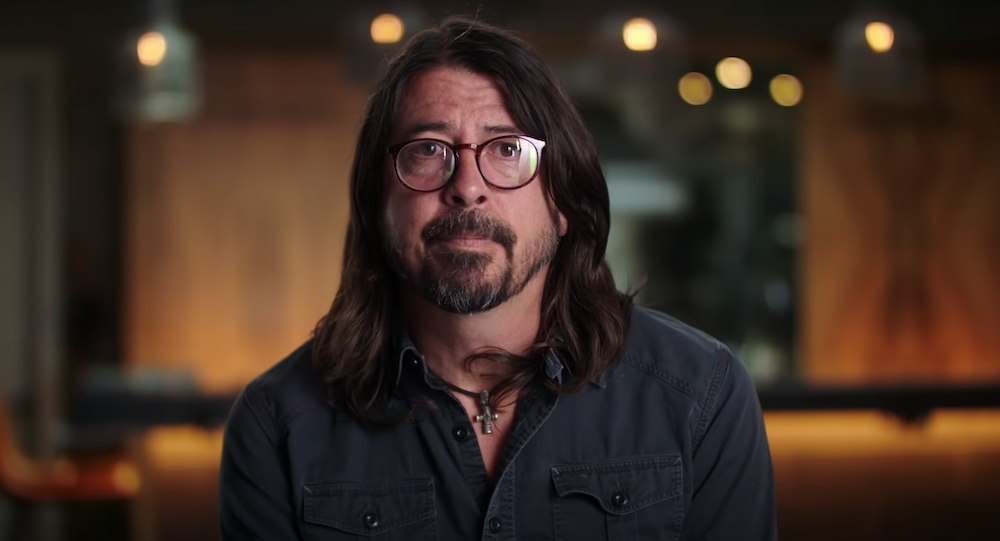 Watch The Trailer For Dave Grohl's New Book The Storyteller