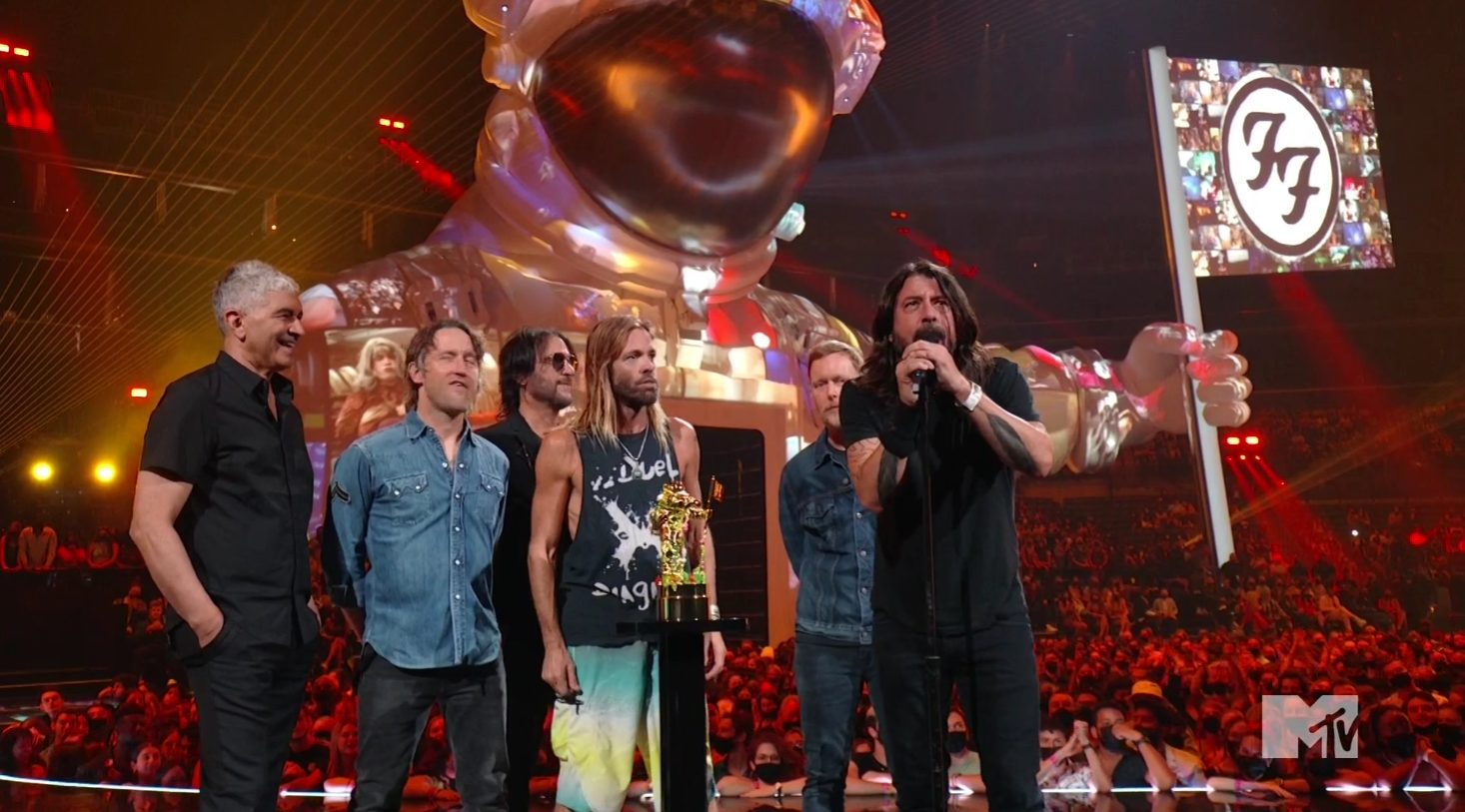 Watch Foo Fighters Play Hits Medley And Accept First-Ever Global Icon Award At VMAs