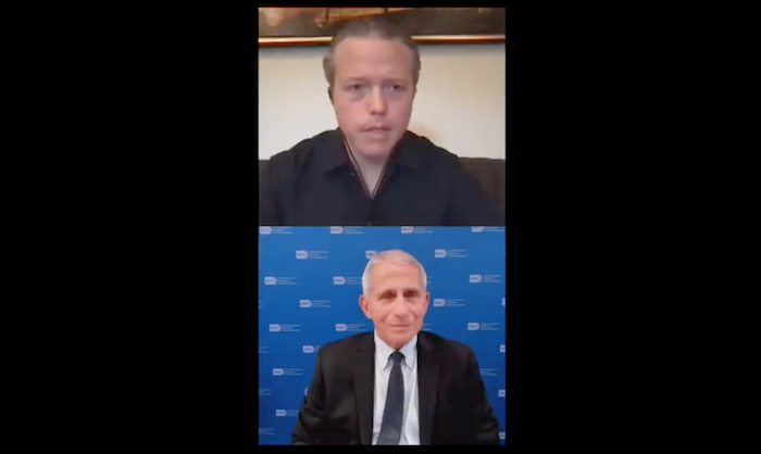 Watch Jason Isbell & Dr. Fauci Talk COVID Vaccine And Concert Safety