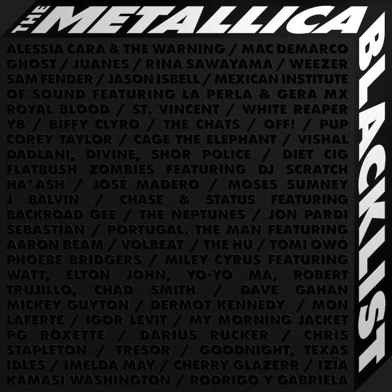 Stream Metallica's Blacklist Tribute Album Feat. My Morning Jacket, Mac DeMarco, Corey Taylor, & More