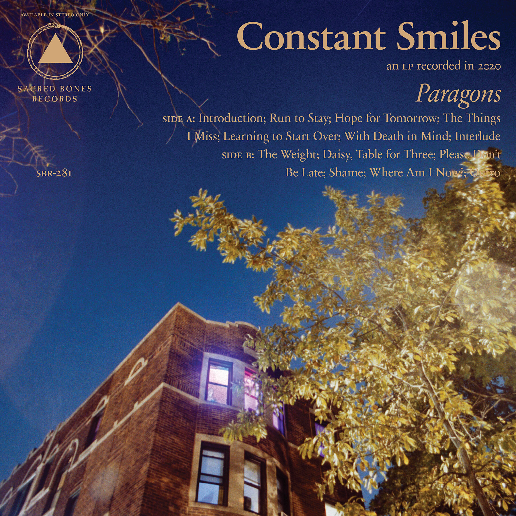 """Constant Smiles – """"Run To Stay"""""""