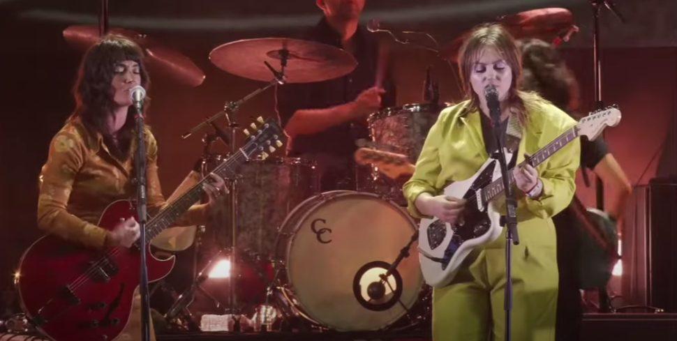Watch Sharon Van Etten Join Angel Olsen At Pitchfork Music Festival
