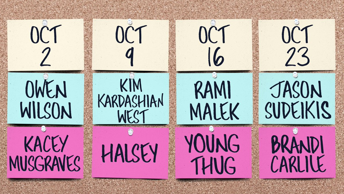 SNL Announces Next Month's Musical Guests: Kacey Musgraves, Halsey, Young Thug, & Brandi Carlile