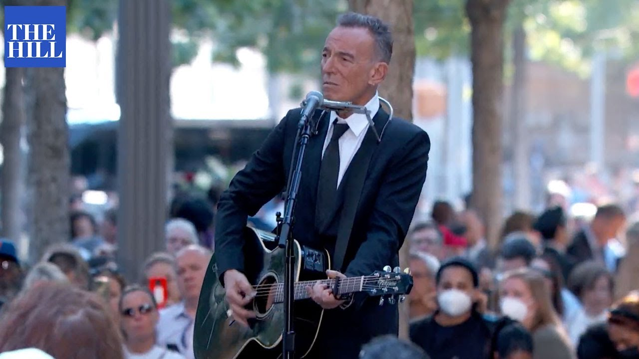 """Watch Bruce Springsteen Perform """"I'll See You In My Dreams"""" At 9/11 Memorial In NYC"""