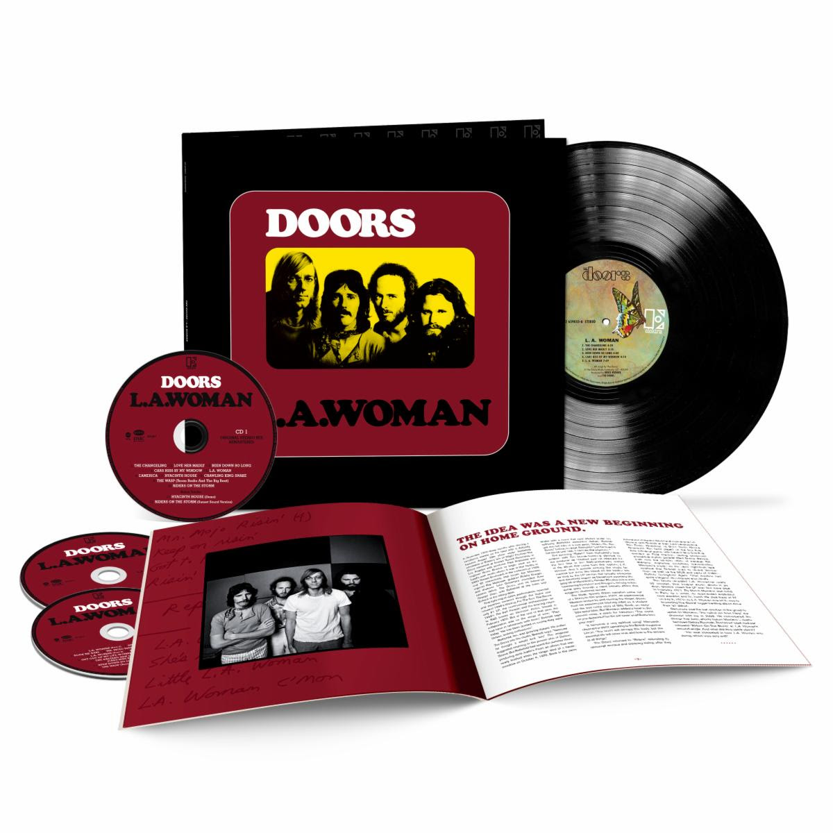 """Hear The Doors' Previously Unreleased """"Riders On The Storm"""" Demo"""