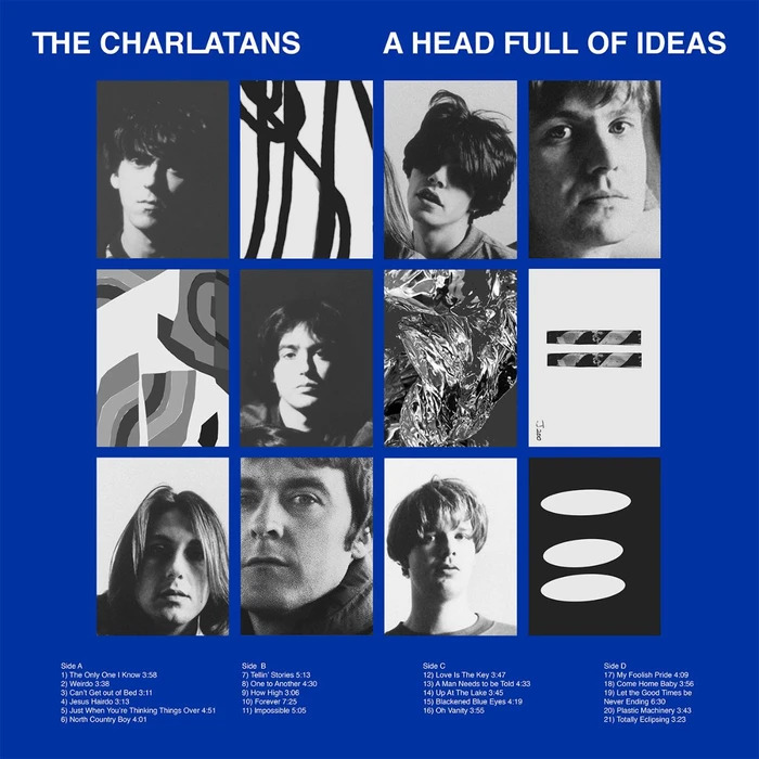 """Hear The Charlatans' Newly Unearthed 2001 Track """"C'mon C'mon"""""""