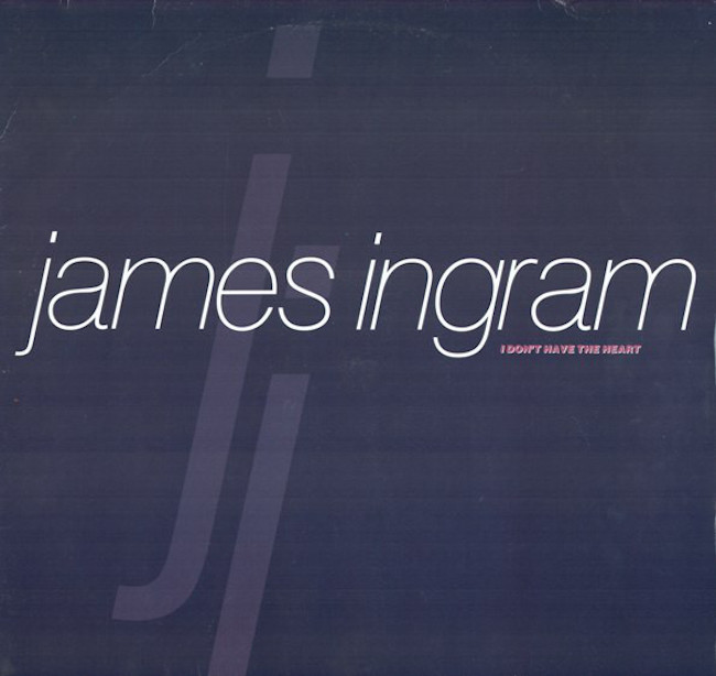 """The Number Ones: James Ingram's """"I Don't Have The Heart"""""""