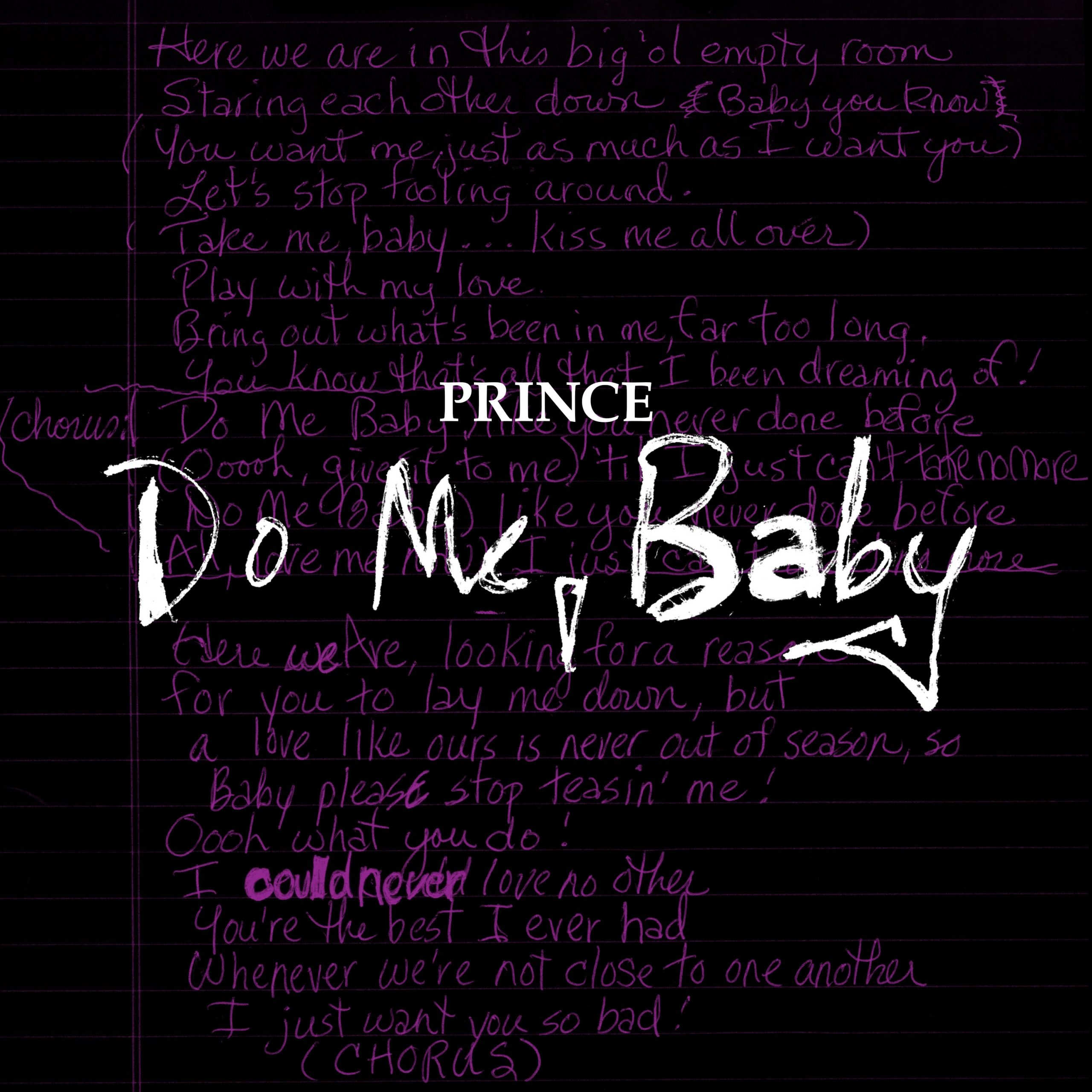 """Hear Prince's Previously Unreleased """"Do Me, Baby"""" Demo"""