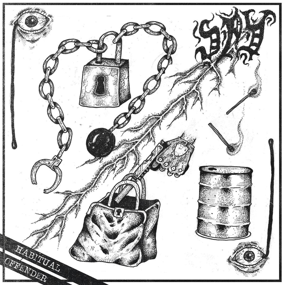 Stream Spy's Sick New Hardcore Punk EP Habitual Offender