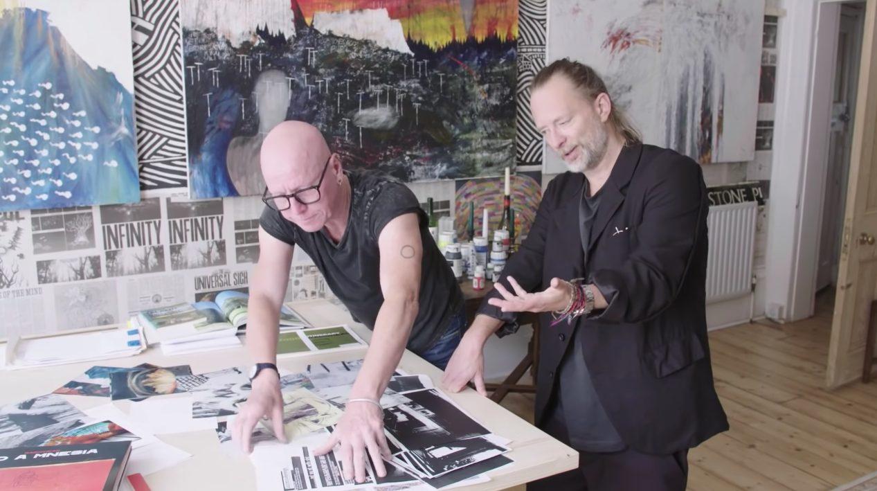 Watch Thom Yorke & Stanley Donwood Discuss Working Together On Radiohead's Album Art