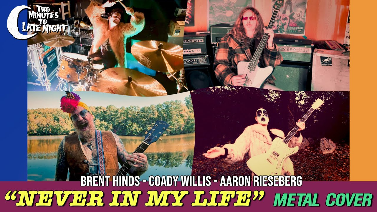 """Watch Members Of Mastodon, High On Fire, & Yob Cover Mountain's """"Never In My Life"""""""