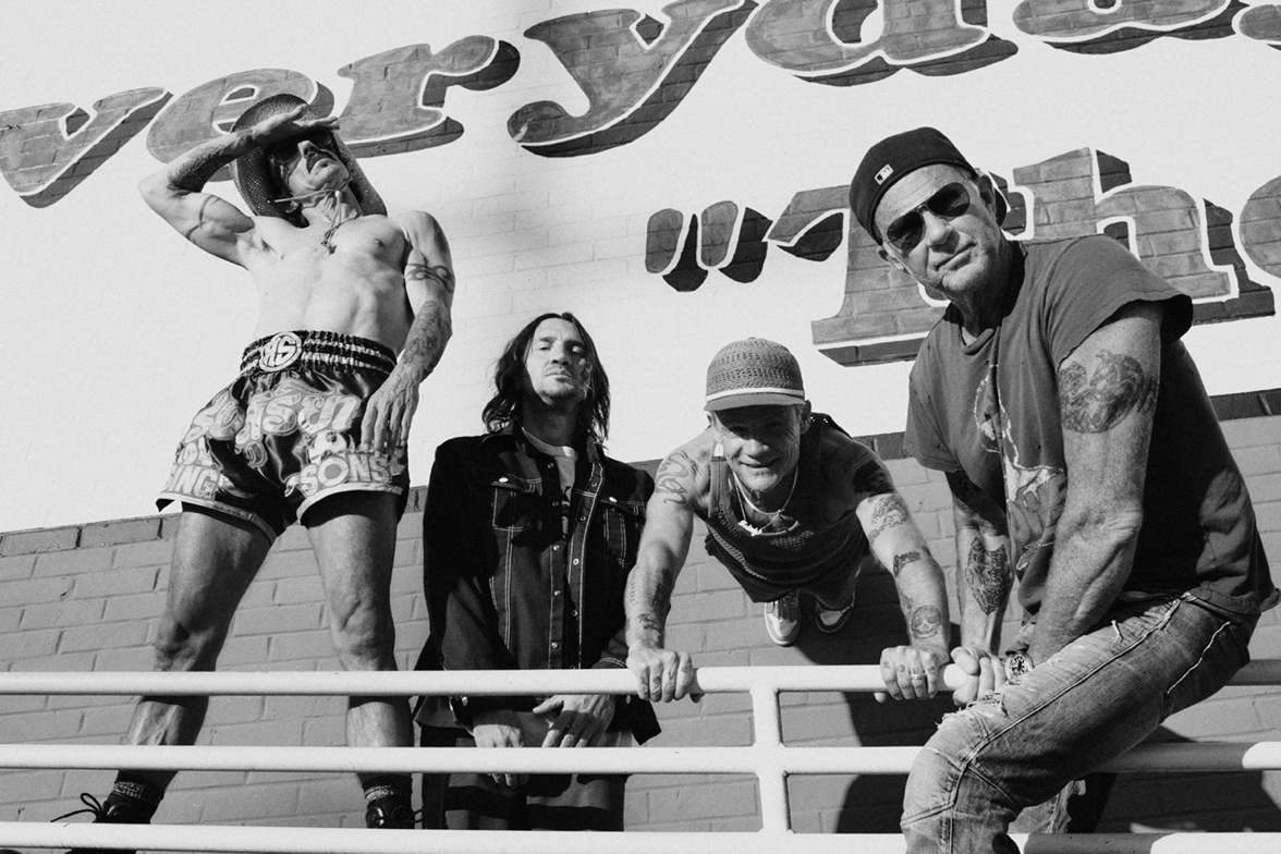 Red Hot Chili Peppers Announce Global Stadium Tour With The Strokes, Haim, A$AP Rocky, St. Vincent, & More