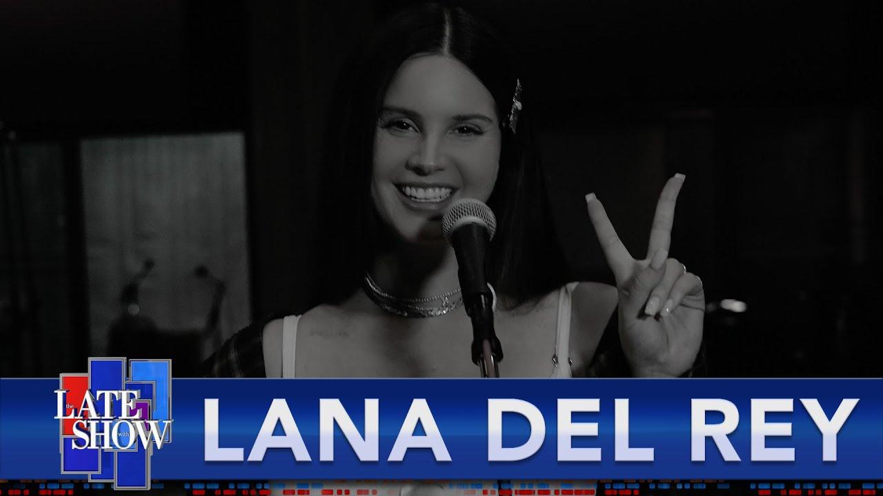 "Watch Lana Del Rey Perform ""Arcadia"" On Colbert"